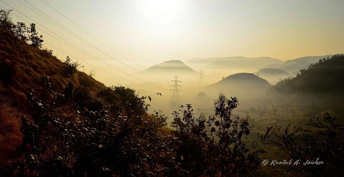 Peb fort trek near Matheran