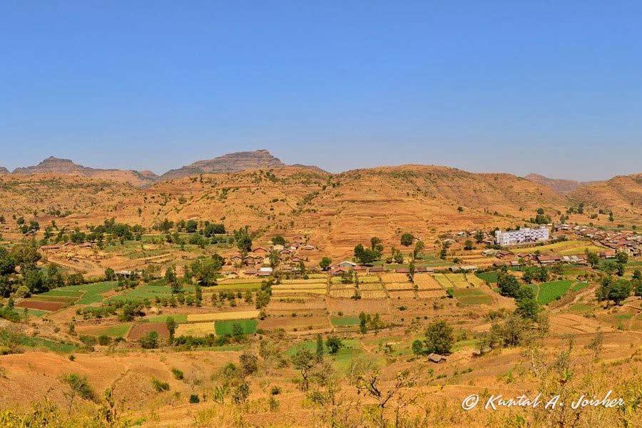 View of Waghamba Village